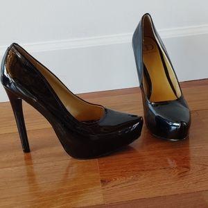 Kelsi dagger patent leather heels 9.5